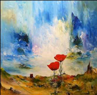Drømme universet. by Kurt Olsson | maleri