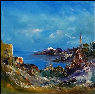 Stilhed i tiden by Kurt Olsson | maleri