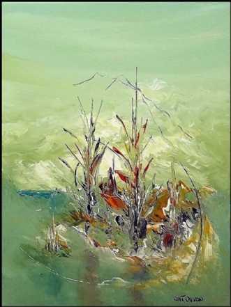 Sommer minder by Kurt Olsson | maleri