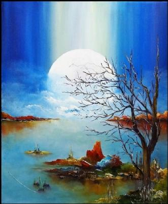 Lad lyset komme by Kurt Olsson | maleri