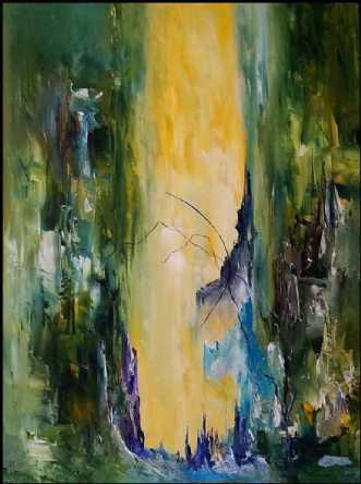 Stille drømme by Kurt Olsson | maleri