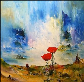 Drømme universet by Kurt Olsson | maleri