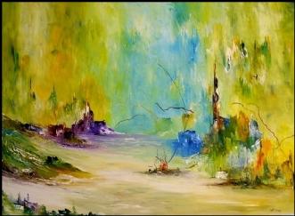 Tider skal komme by Kurt Olsson | maleri