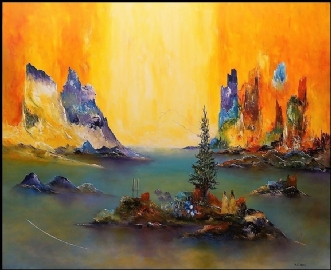 Lad livet komme til.. by Kurt Olsson | maleri