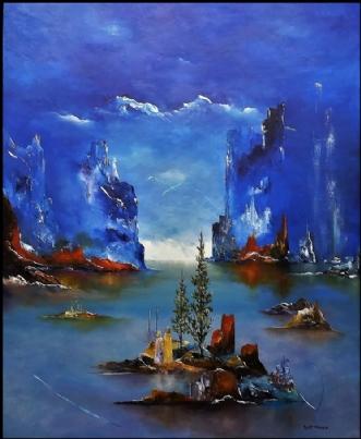 Min dag med dig. by Kurt Olsson | maleri