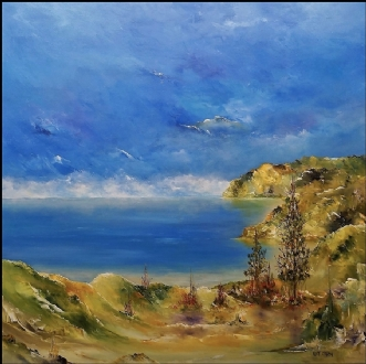 Vestkysten by Kurt Olsson | maleri