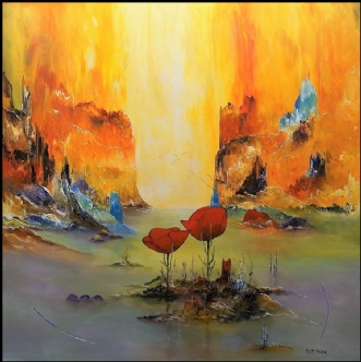 Drømme og længsel by Kurt Olsson | maleri