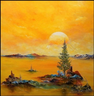 Drømmer mig tilbage by Kurt Olsson | maleri