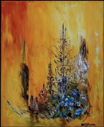 Lad os drømme by Kurt Olsson   maleri