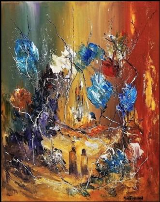 Livets drøm by Kurt Olsson   maleri