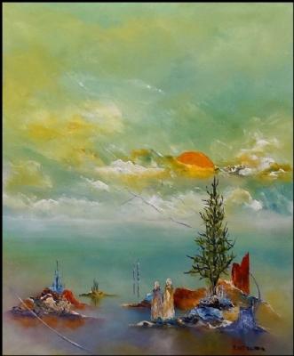 Vores verden by Kurt Olsson | maleri