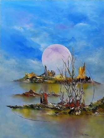 Drømmenes  verden by Kurt Olsson | maleri