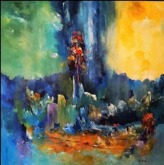 Lykkelige dage. by Kurt Olsson | maleri