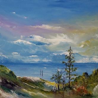 Østkyst stemning by Kurt Olsson | maleri