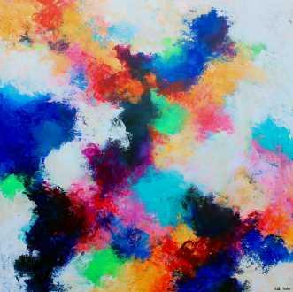 Rainbow by Mette Vester | maleri