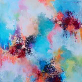 Hypnotic 3 by Mette Vester | maleri