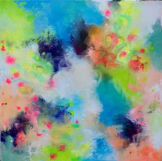 Hypnotic 1 by Mette Vester | maleri
