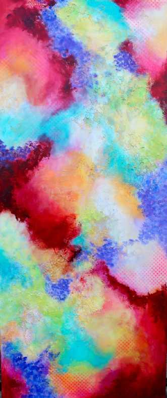 Turnaround by Mette Vester | maleri