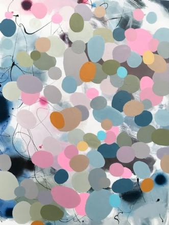 QUIET FOREST by Vibeke Lerfeldt Bjerker | maleri