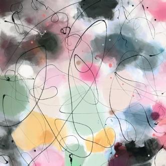 STARLIGHT by Vibeke Lerfeldt Bjerker | maleri
