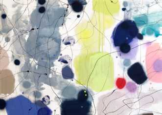 KEEP ME COMPANY by Vibeke Lerfeldt Bjerker | maleri