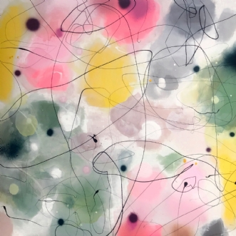 FEELS LIKE PARADISE by Vibeke Lerfeldt Bjerker | maleri