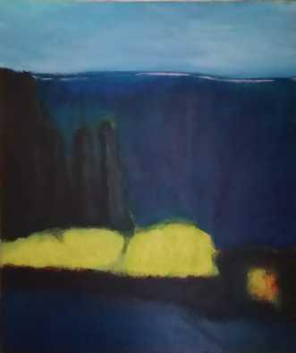 Udsigten by Lisa Astrup | maleri