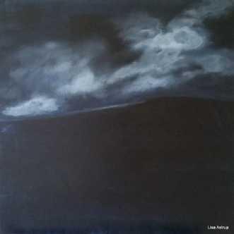 tordenskyer by Lisa Astrup | maleri