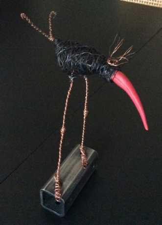 Paradisfugl by Lisa Astrup | skulptur