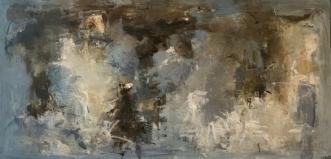 MELLEM OS by Filica Lysfalk | maleri