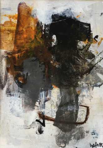 INGEN TITEL by Filica Lysfalk | maleri