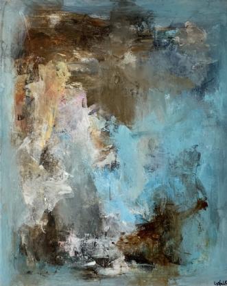 A LOT OF FUN by Filica Lysfalk   maleri