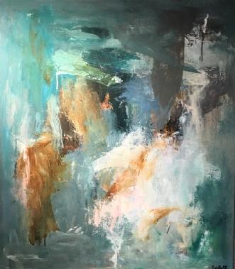 LYT TIL LYSET by Filica Lysfalk | maleri