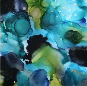 'Focus' by Kirsten Toft Andersen | maleri