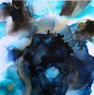 'zoom' by Kirsten Toft Andersen | maleri
