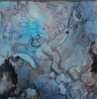 'blå fabler' by Kirsten Toft Andersen | tegning
