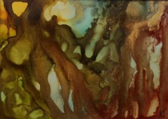 'Lyset derude' by Kirsten Toft Andersen | tegning