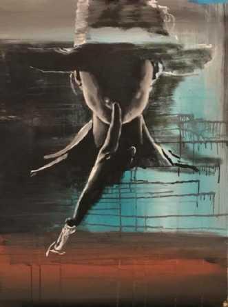 Shyyy... by Maj-Britt Olesen | maleri