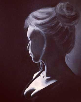 Longing by Maj-Britt Olesen | maleri