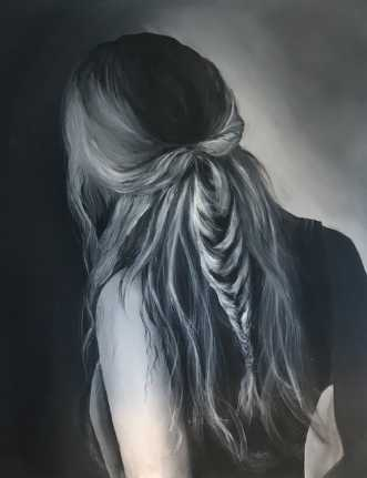 Hair by Maj-Britt Olesen | maleri