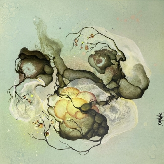 Clear by Rikke Darling | maleri