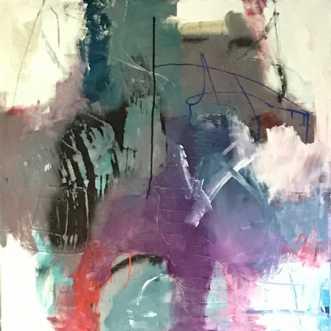 Jordforbindelse by Tina Hee | maleri