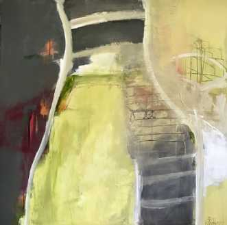 Lykkevej by Tina Hee | maleri