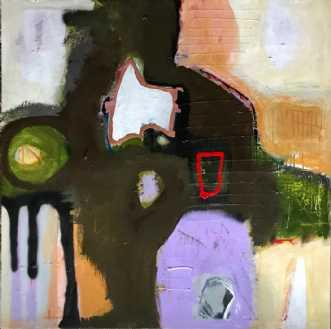 Ligevægt by Tina Hee | maleri