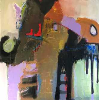 En højere enhed. by Tina Hee | maleri