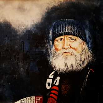 Hans-henrik, portræt af en hjemløs afKate Piil