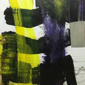 Eksperimenterende f.. by Kate Piil | maleri
