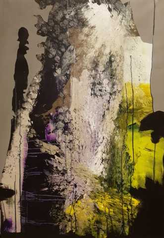 Når græsset er grøn.. by Kate Piil | maleri