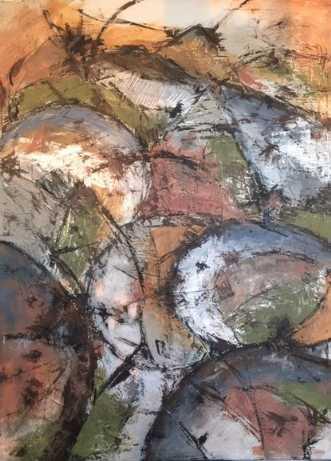 Martian by Susanne Wiese | maleri