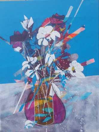 Vinduet by Ann Hagström | maleri